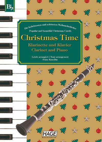 Christmas Time für Klarinette und Klavier / Clarinet and Piano