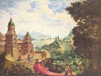 Albrecht Altdorfer - Der Hoffart sitzt der Bettel auf der Schleppe - 200 Teile (Puzzle)