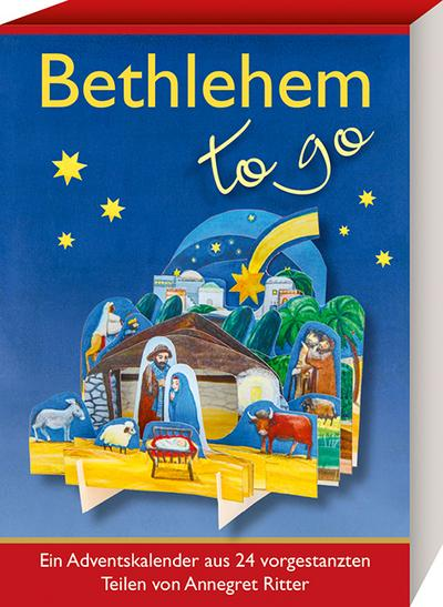 Bethlehem - to go - Kaufmann - Kalender, Deutsch, Annegret Ritter, ,