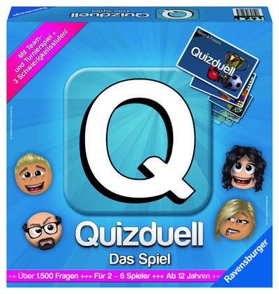 Ravensburger 27207 - Quizduell, Das Brettspiel
