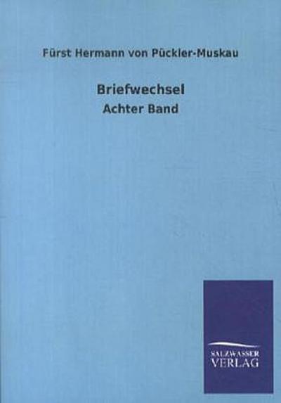 Briefwechsel: Achter Band