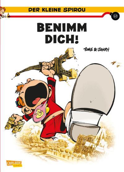 Der kleine Spirou 17: Benimm dich!
