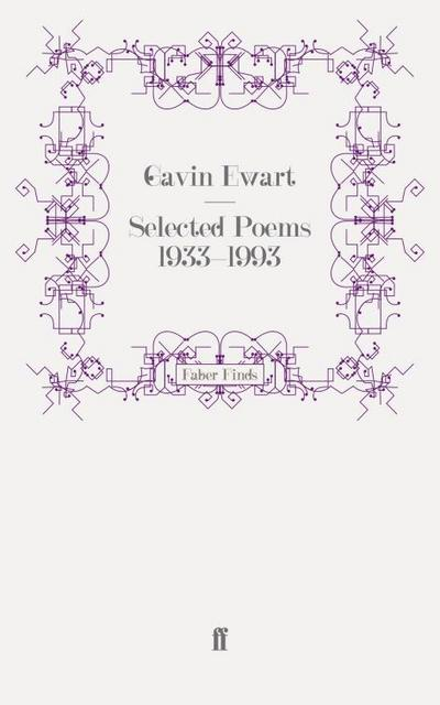 Selected Poems 1933-1993