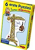 6 Erste Puzzles, Baustelle (Kinderpuzzle)
