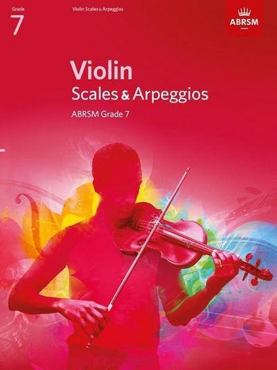Violin Scales & Arpeggios, ABRSM Grade 7