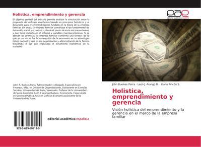 Holistica, emprendimiento y gerencia