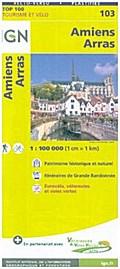 Amiens Arras 1:100 000