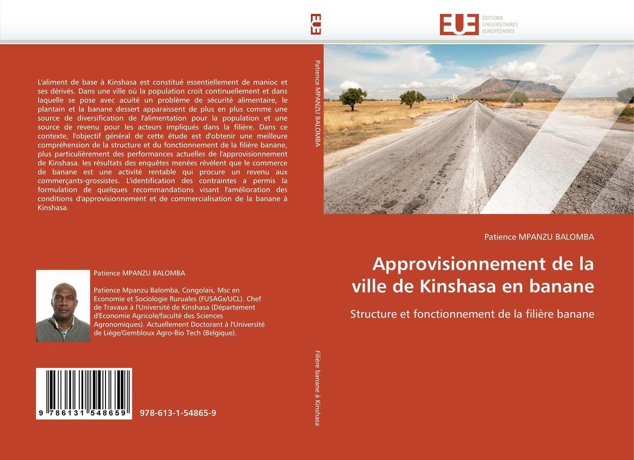 Approvisionnement de la ville de Kinshasa en banane - Patien ... 9786131548659