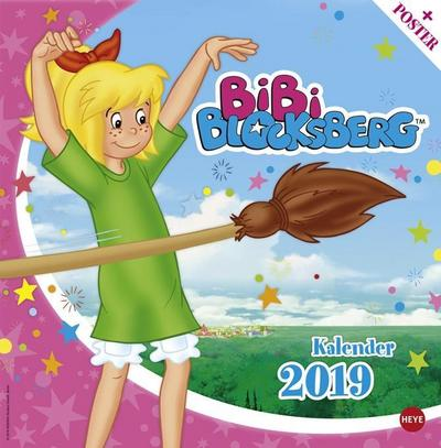 bibi-blocksberg-broschurkalender-kalender-2019