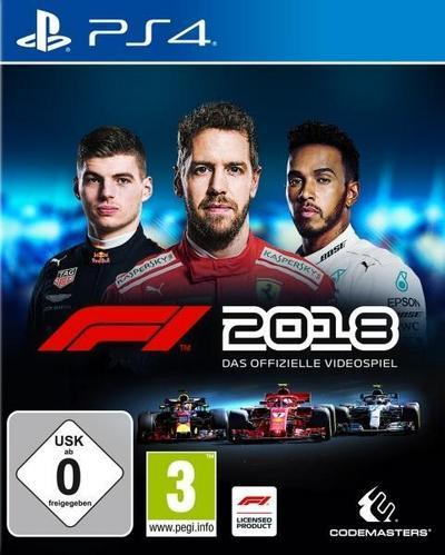 F1 2018 (PlayStation PS4)