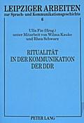 Ritualität in der Kommunikation der DDR