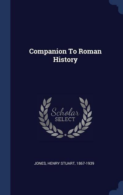 Companion to Roman History