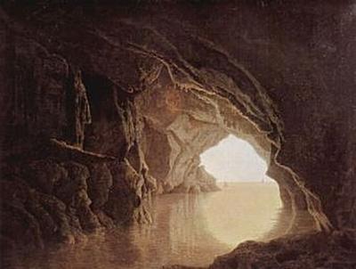 Joseph Wright - Höhle am Abend - 200 Teile (Puzzle)