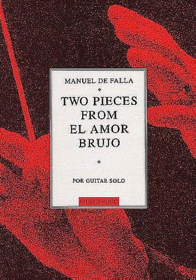 2 Pieces from El amor brujo :for guitar solo