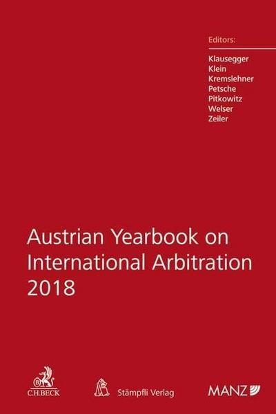 Austrian Yearbook on International Arbitration 2018
