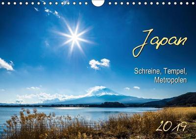 Japan - Schreine, Tempel, Metropolen (Wandkalender 2019 DIN A4 quer)
