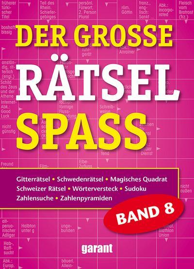 Der grosse Rätsel Spass Band 8