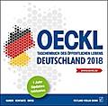 OECKL. Taschenbuch des Öffentlichen Lebens - Deutschland 2018 - CD-ROM