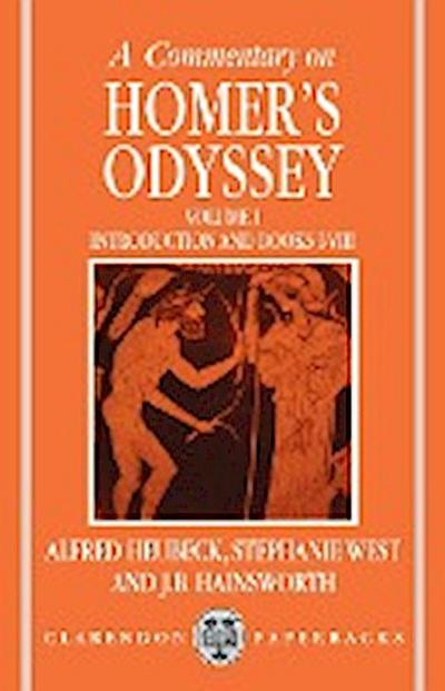 A Commentary on Homer's Odyssey: Volume I: Introduction and Books I-VIII