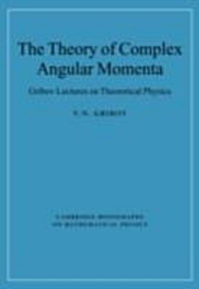 Theory of Complex Angular Momenta