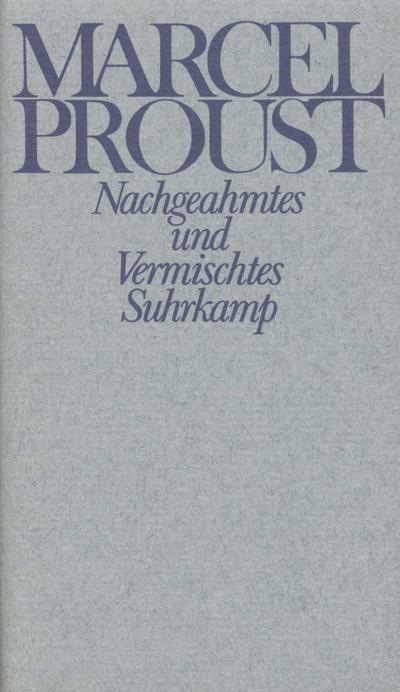 Werke, Frankfurter Ausgabe Nachgeahmtes und Vermischtes