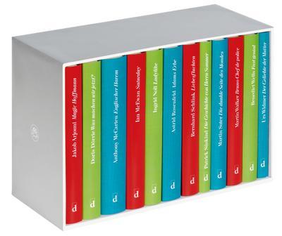 Jubiläumskassette 60 Jahre Diogenes, 12 Bde.