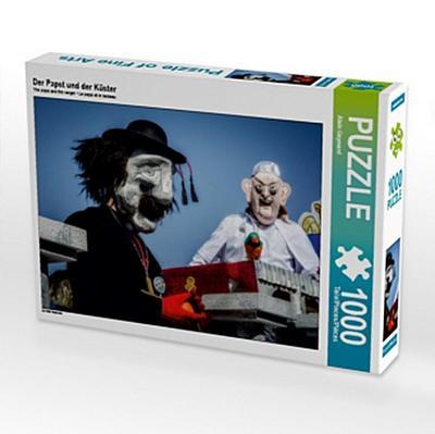Der Papst und der Küster (Puzzle)