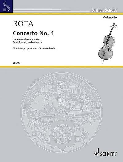Konzert Nr.1  für Violoncello und Orchesterfür Violoncelo und Klavier