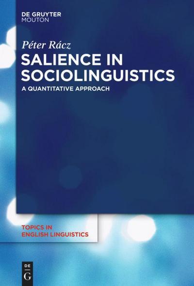 Salience in Sociolinguistics