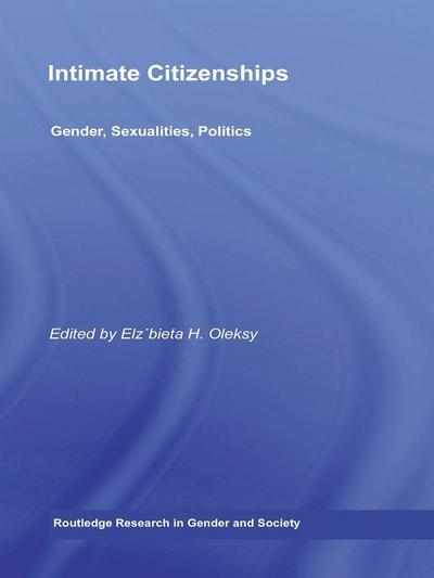Intimate Citizenships