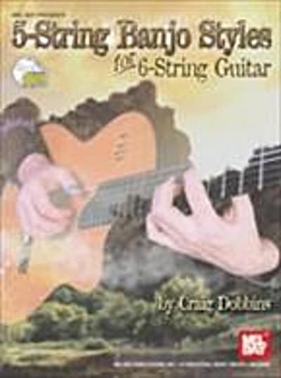 5-String Banjo Styles for 6-String Guitar