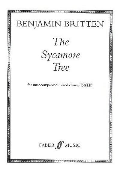 Sycamore Tree: Satb, a Cappella, Choral Octavo