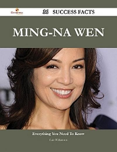 Ming-Na Wen 36 Success Facts - Everything you need to know about Ming-Na Wen