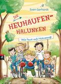 Die Heuhaufen-Halunken - Volle Faust aufs Hühnerauge; Die Heuhaufen-Halunken-Reihe; Ill. v. Schmidt, Vera; Deutsch; Mit zweifarbigen Illustrationen, 50 Illustr.