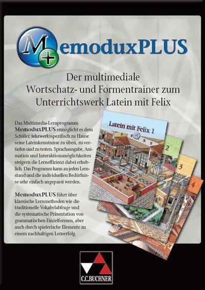 MemoDux Plus. Latein mit Felix. CD-ROM für Windows ab 98