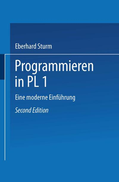 Programmieren in PL/I, 1