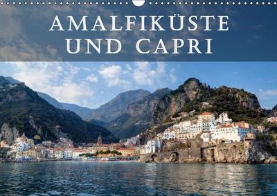 Amalfiküste und Capri (Wandkalender 2019 DIN A3 quer)
