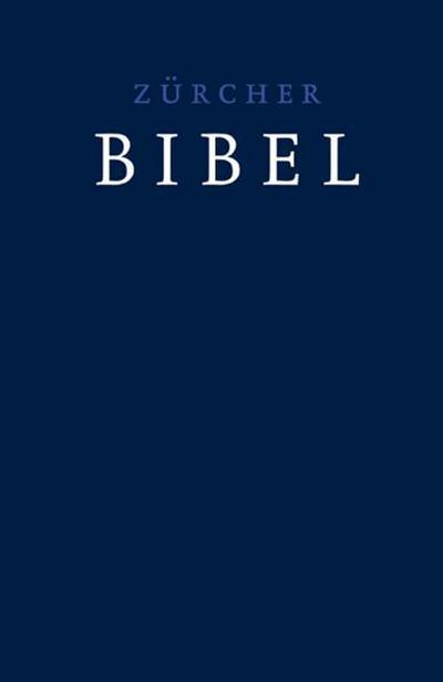 Zürcher Bibel, Standardausgabe, dunkelblau