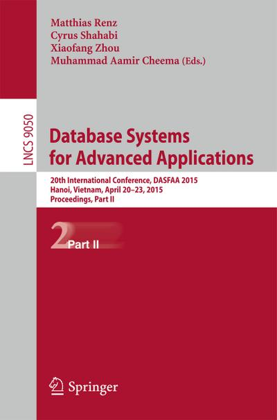 Database Systems for Advanced Applications. Pt.2