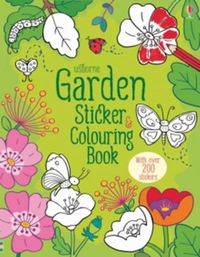 Garden Sticker & Colouring Book