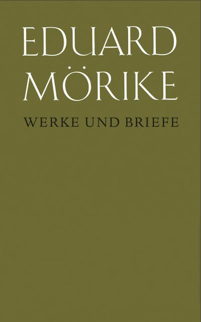 Eduard Mörike, Werke und Briefe. Band 8, 1: Übersetzungen. Erster Teil: Text.