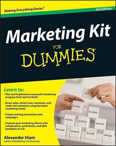 Marketing Kit for Dummies [With CDROM]