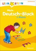 Mein Deutsch-Block 1. Klasse: Wortspiele, Bil ...