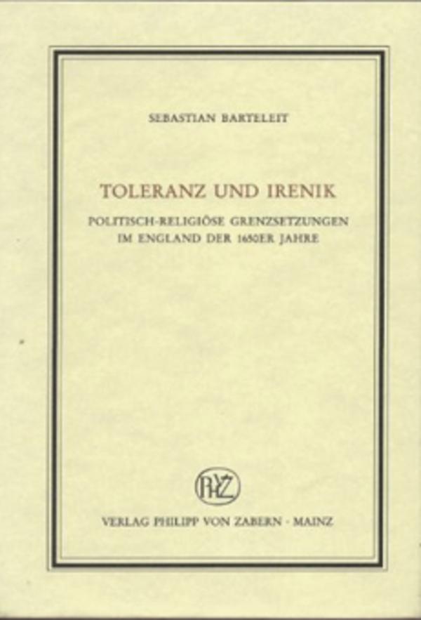 Toleranz und Irenik Sebastian Barteleit