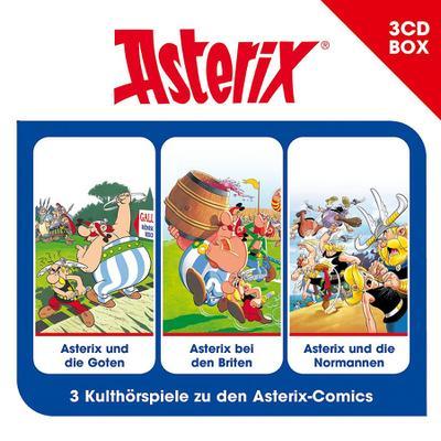 Asterix Hörspielbox Vol. 3