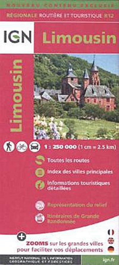 Limousin 2015. 1 : 250 000