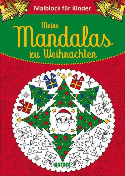 Mein dicker Weihnachts-Mandala-Block