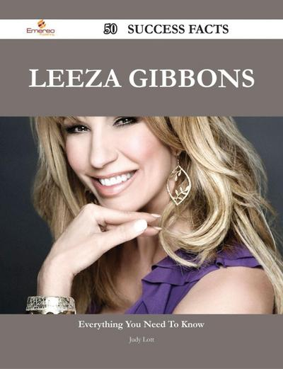 Leeza Gibbons 50 Success Facts - Everything you need to know about Leeza Gibbons