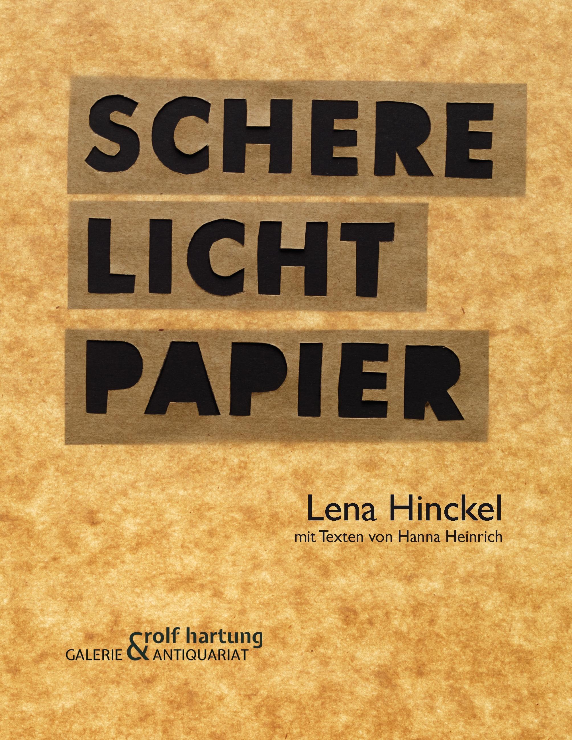 Schere Licht Papier Hanna Heinrich