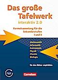 Das große Tafelwerk interaktiv 2.0 - Allgemeine Ausgabe (außer Niedersachsen und Bayern): Das große Tafelwerk interaktiv 2.0